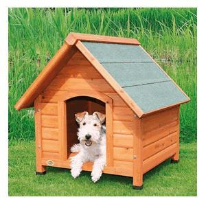 Dog Kennel with Saddle Roof, 83x87x101cm