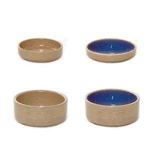 All Cane Lettered Cat Bowls