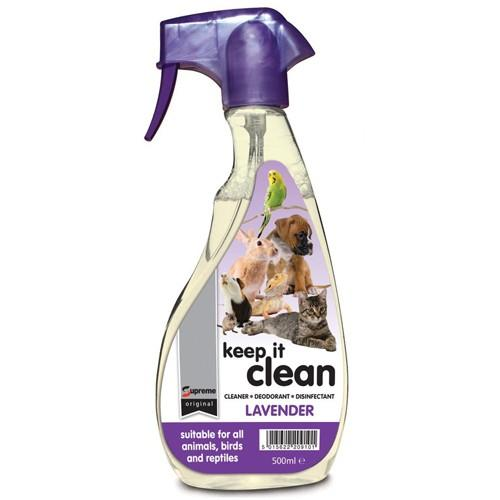 Supreme Keep It Clean Lavender 500ml