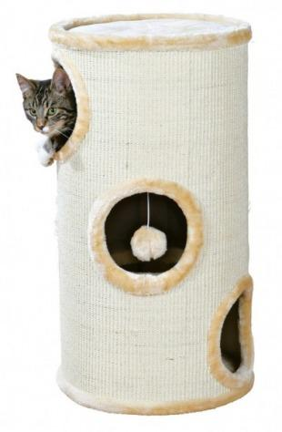 Samuel Cat Tower 70cm Beige