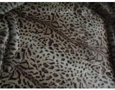 Ocelot Faux Fur Pet Throw Medium (74 x 74 cm